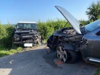 Deux blessés dans un choc frontal à Saint Laurent d'Andenay