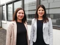 Aurélie et Justine, deux nouvelles professionnelles de l'immobilier se lancent sur le Chalonnais