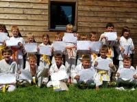 L'école de Judo a repris à St Germain du Plain