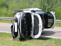 Un conducteur sérieusement blessé dans une perte de contrôle