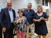 DEPARTEMENTALES - Les maires de Saint-Rémy et Saint-Marcel élus au conseil départemental de Saône et Loire
