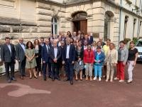 CONSEIL DEPARTEMENTAL - Les élus de la majorité départementale ont fait leur rentrée à Mâcon