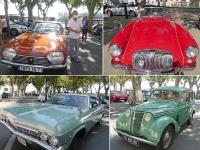 Près d'une centaine de voitures anciennes réunie à Mâcon