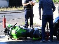 Un motard tué dans une collision avec une voiture à Saint-Vallier