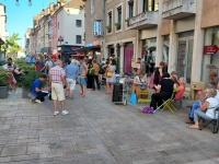 Les anti-pass sanitaire se mobilisent rue de Strasbourg à Chalon
