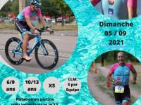 Il est encore temps de vous inscrire pour le grand rendez-vous sportif de rentrée du Chalon Triathlon Club