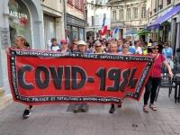 Covid-19 : dixième samedi de manifestations contre le pass sanitaire