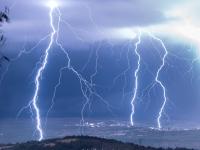 Incroyable nuit d'orages immortalisée par le photographe Jordan Vega