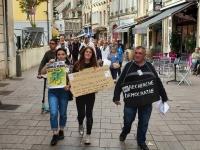 PASS SANITAIRE - 13e samedi de mobilisation à Chalon-sur-Saône et 200 personnes dans le cortège