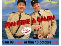 Pas à pas pour Yanis est heureuse de vous annoncer le Nouveau spectacle de JEANPIRE ET BALOU « DEBARQUEMENT IMMEDIAT