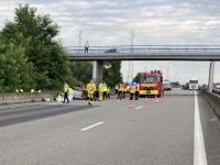 AUTOROUTE A6 : 2 morts dans un accident entre Vinzelles et St-Symphorien d'Ancelles
