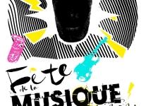Fête de la musique à Chalon sur Saône - Une scène installée place de l'Hôtel-de-Ville