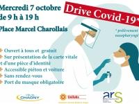 CORONAVIRUS - Journée de dépistage gratuite et sans rendez-vous à Chagny