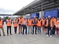 La Corse vient s'inspirer du côté des déchèteries du Grand Chalon pour la gestion de ses déchets