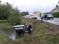 Violente sortie de route au Guide de Marloux