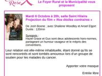 OCTOBRE ROSE - Projection ce mardi soir à Fontaines