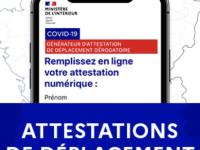 28 NOVEMBRE - Téléchargez les nouvelles attestations de déplacement !