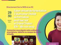 ORIENTATION - C'est le moment de visiter les établissements d'enseignement supérieur du Grand Chalon ... depuis chez vous