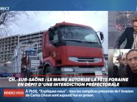 Le Chalonnais, René Ayoun, Président de l'Union intersyndicale des entreprises foraines de France, exprime son ras le bol