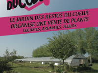 A noter sur vos agendas ! Les Jardins du Coeur à Saint-Marcel ouvrent leurs portes