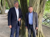 REGIONALES - Gilles Platret (LR) annonce son alliance avec le Mouvement écologiste indépendant d'Antoine Waechter
