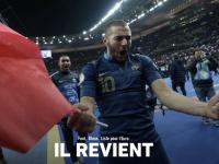 FOOTBALL  - Karim Benzema sera dans la liste des Bleus de Deschamps pour l'Euro