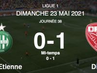 FOOTBALL - Le DFCO tire sa révérence en L1 en s'imposant face à Saint-Etienne