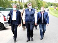 """REGIONALES -  A Montceau les Mines, avec Dupont-Aignan, Gilles Platret réaffirme """"qu'il n'y aura aucun accord de second tour ni avec le RN ni avec LREM"""""""