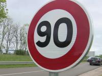 En septembre 2021, 400 km de routes de Saône-et-Loire pourraient passer de 80 à 90 km/h.