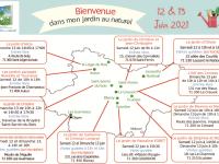 """La 9e Edition de """"Bienvenue dans mon jardin au naturel"""" vous donne rendez-vous en Saône et Loire"""