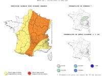 L'Observatoire Français des Tornades et Orages Violents annonce une fin de journée mouvementée en Saône et Loire