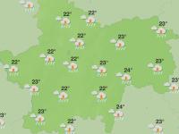 Une semaine parsemée d'orages en Saône et Loire