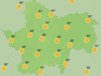 Les températures vont encore grimper sur les prochaines 48 h en Saône et Loire