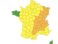 La Saône et Loire toujours  placée en alerte orange aux orages
