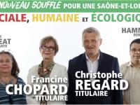 DEPARTEMENTALES - CHALON 3 - Francine Chopard et Christophe Regard appellent à la mobilisation