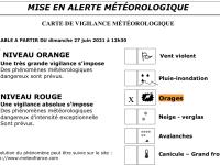 Le bureau de la Sécurité civile et de la défense de Saône et Loire annonce jusqu'à 60 mm de précipitations