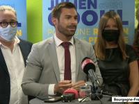 """REGIONALES - """"Marie-Guite Dufay élue sans électeurs et sans majorité populaire"""" pour Julien Odoul (Rassemblement National)"""