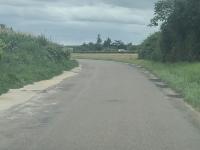 A Saint-Désert, une fidèle d'info-chalon réclame plus de considération pour la route de Cocloyes