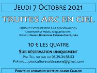 La vente des truites fraîches du Val de Saône reprend