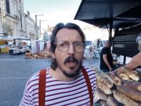 Joli clin d'oeil d'Erwan, le restaurateur des Yvelines à Chalon sur Saône et à sa boulange volante