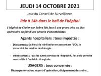 L'Appel à la mobilisation autour de l'hôpital de Chalon