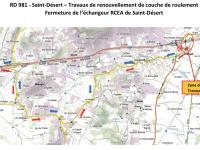 Des perturbations à prévoir cette semaine dans le secteur RCEA/Saint Désert
