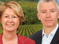 """DEPARTEMENTALES - CHAGNY - """"Nous sommes candidats à un seul mandat: conseiller départemental"""" rappellent Claudette Brunet-Lechenault et Jean-Christophe Descieux"""
