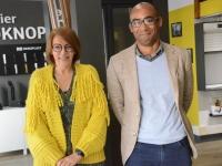 Le nouveau binôme en force de la rue de la Banque à Chalon-sur-Saône