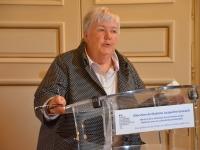 """Jacqueline Gourault Ministre de la Cohésion des territoires et des Relations avec les collectivités territoriales vient saluer l'entrée de 15 nouvelles communes de Saône et Loire au sein de """"Petites villes de demain"""""""