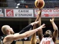 L'Elan Chalon battu par Limoges après prolongation, sur un tir à 3 points
