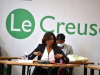 Echanges sans langue de bois pour la ministre  déléguée à l'Égalité femmes-hommes, à la Diversité et à l'Égalité des chances, Elisabeth Moreno