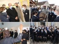 En Saône et Loire, Florence Parly et Jean-Michel Blanquer ont défendu l'excellence du Lycée Militaire d'Autun