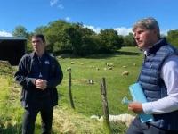 REGIONALES - Pour Gilles Platret, «les loups oui, mais pas dans les zones d'élevage !»