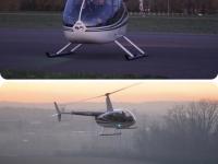 Régis et Magali Thévenet, pionniers de la lutte contre le gel des vignes par hélicoptère
